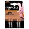 Batterie Duracell AAA MN2400 LR03 Micro 4 Stück