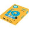 Papír kopírovací IQ Color A4, 160 g, 250 listů, zlatožlutý-SY40