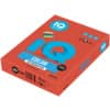 Papír kopírovací IQ Color A4, 160 g, 250 listů, korálově červený-CO44