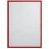Magnetická kapsa na prospekty A4, FRANKEN, červená, 1 ks
