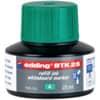Inkoust BTK25 zelený pro popisovače EDD360/361/Ecoline 28, 25 ml