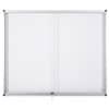 Magnetická interiérová vitrína - 12 x A4