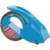 Odvíječ balicí pásky Tesa Pack´n´Go včetně pásky s nehlučným odvíjením, modrý