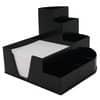 Schreibtischboy +Zettelbox schwarz METZGER 68476301 7-teilig