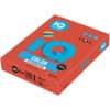 Papír kopírovací IQ Color A3, 80 g, 500 listů, korálově červený-CO44