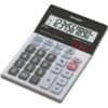 Tischrechner 10-stellig glastop SHARP SH-ELM711GGY dualpower