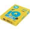 Papír kopírovací IQ Color A3, 80 g, 500 listů, intenzivně žlutý-IG50