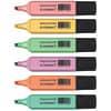 Textmarker Q-Connect pastell Etui 6ST