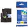 P-Touch Band 12mm TZe-535 weiß auf blau