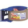 Verpackungsband Tesa 50 mm x 66 m braun + Handabroller