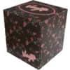 Kosmetické kapesníčky v boxu, 3vrstvé, 60 ks. 100% celulóza, bílé