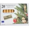Christbaumkerze Bienenwach 10118-008008 zu 20 St.