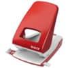 Děrovačka Leitz NEXXT 5138, průřeznost 40 listů, červená