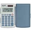 Kalkulačka SHARP EL243S, 8 míst, s pevným krytem bílá