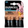 Batterie MX1500 AA LR06 4ST DURACELL DUR002562 ULTRAPOWER