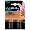 Batterie Duracell MX2400 Ultra Power 4 Stück