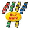 Index Post-it 25,4x43,2mm 10 + 2 Stück GRATIS sortiert