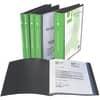 """Katalogová kniha A4 Q-Connect plast, s """"U"""" obalem 100 kapes, černá"""