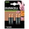 Batterie Duracell ACCU AAA 850mAh 4 Stück
