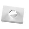 Hygienebeutelspender Kunststoff weiß