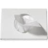 Hygienebeutel Alufix HDPE 15x26cm weiß 30ST