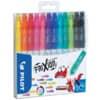 Popisovač FriXion Colors, přepisovatelný, sada 12 barev