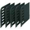 Trennplatte 5ST schwarz STYRO 280-3015.95 STYROrac
