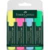 (5 × + pastelky Faber Castell ZDARMA) Zvýrazňovač TEXTLINER 1548, sada 4 barev