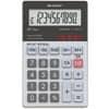 Taschenrechner 10-ste. glastop SHARP SH-ELW211G-GY dualpower