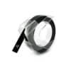 Dymo páska Omega, 9 mm x 3 m, černá