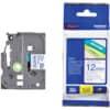 P-Touch Band 12mm TZe-233 blau auf weiß