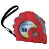 Rollmeter Stahl 5m rot ERBA 87171