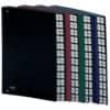 Pultordner A-Z schwarz DONAU 8694001-01 Kunststoff