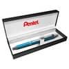 Gelový roller Pentel Energel Steel - světle modrá