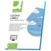 Etikety na CD/DVD ø 117 mm,Q-Connect A4, 2 x 25ks