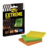 Haftnotizen Post-It Extreme Notes 76x76mm 3 Stück sortiert