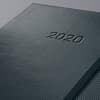 Buchkalender 2020 ca. A6 schwarz SIGEL C2011 CONCEPTUM