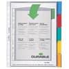 Hüllenregister Durable A4 hoch 6630 transparent