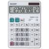 Tischrechner 12-stellig weiß SHARP SH-EL340W DualPower