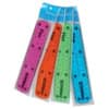 Pravítko Donau flexibilní 15 cm, barevný assort
