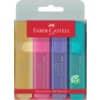 Textmarkeretui 4ST sortiert FABER CASTELL 154610 Pastell
