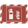 Rámeček DURAFRAME SECURITY A4, 2 ks, červená/bílá