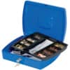 Geldkassette Gr.4 blau Q-CONNECT KF02625