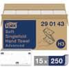 Papierhandtücher Tork H3 Z-Falz 2-lagig 3750ST weiß