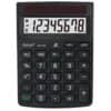 Tischrechner 8-stellig schwarz REBELL RE-ECO310BX