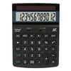 Tischrechner 12-stellig schwarz REBELL  RE-ECO450BX