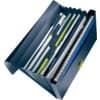 W_Ekologická aktovka na spisy Leitz RECYCLE, PP, petrolejově modrá