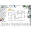 Schreibunterlagenblock Coloring 20Motive SIGEL HO540 20BL 80g