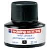 Inkoust MTK 25 pro permanentní popisovače edding, 25 ml, černý
