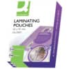 Laminierhülle 65x95mm 100ST Q-CONNECT KF01213 2x125my